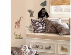 Wandsticker, RoomMates for Kids, »Auf Safari«