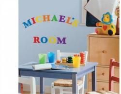 Wandsticker, RoomMates for Kids, »Alphabet bunt«