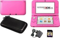 Nintendo 3DS XL pink Konsolen-Set