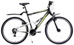 Alu-Crossbike, Karcher, »All Terrain«, 28 Zoll, 24-Gang Shimano Altus Kettenschaltung