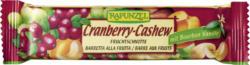 Fruchtschnitte Cranberry Cashew
