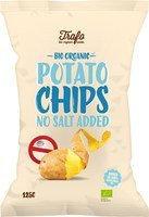 Kartoffelchips ohne Salz