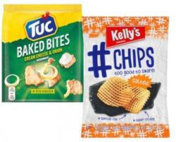 KELLY'S/TUC Hashtag Chips oder Baked Bites