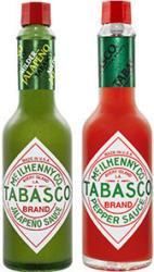 Tabasco versch. Sorten, jede 60-ml-Flasche