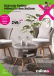 MömaX Exklusiv Online - Möbel für den Balkon - bis 15.07.2019
