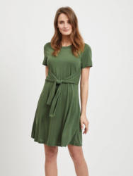 Object Bindegürteldetail Kleid mit kurzen Ärmeln