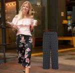 NKD - FMZ Milesi-Park Damen-Culotte-Hose mit modischem Druck
