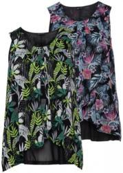 Damen-Bluse mit raffiniertem Schnitt, große Größen