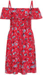 Ernsting's family Damen Kleid mit Blumen-Allover