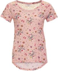 Damen T-Shirt mit Blumen-Allover