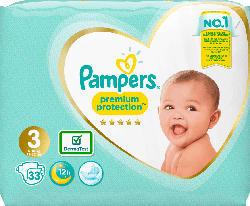 Pampers Windeln Premium Protection, Größe 3, 6-10 kg, Einzelpack