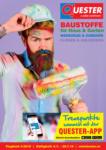Quester Baustoffhandel GmbH Quester Flugblatt 04.07. bis 20.07. Baustoffe & Keramik - bis 20.07.2019