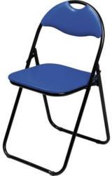 Klappstuhl, blau/schwarz