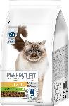 dm-drogerie markt PERFECT FIT Trockenfutter für Katzen, Sensitive 1+, reich an Truthahn