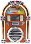 Expert Nedis RDJB3000BN Retro-Tischradio Jukebox