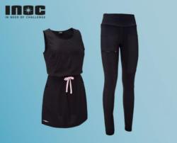 INOC Damen-Trail-Funktionskleid/-leggings