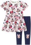 Ernsting's family Minnie Maus T-Shirt und Leggings im Set