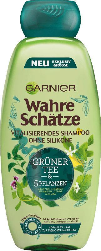 Wahre Schätze Shampoo grüner Tee