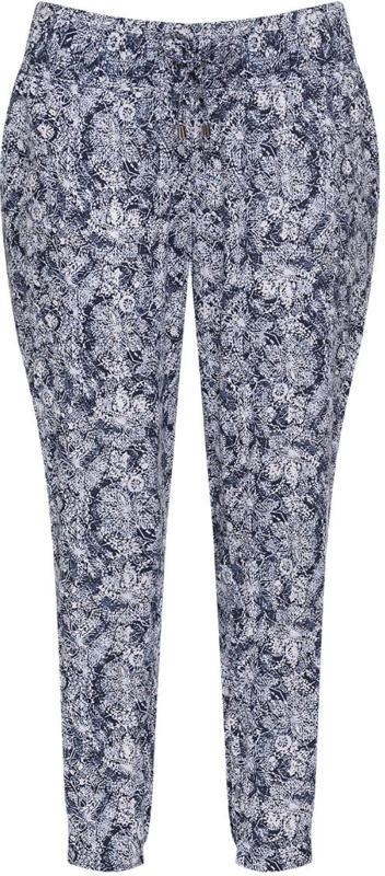 Damen Hose mit Allover-Print