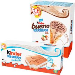 Kinder Ice Cream versch. Sorten, jede 360/480-ml-Packung
