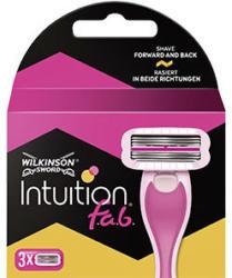 Wilkinson Intuition f.a.b Rasierklingen jede 3er-Packung