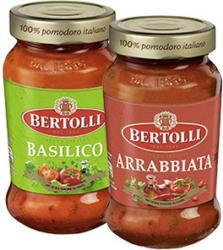 Bertolli Pasta Saucen Classico  versch. Sorten, jedes 400-g-Glas