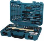 Möbelix Werkzeugset 56-teilig Chrom-Vanadium-Stahl K56 Türkis