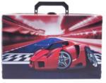 LIBRO Handarbeitskoffer - Auto, rot