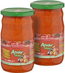 Podravka Ajvar mild oder scharf, jedes 690-g-Glas