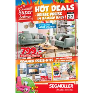 Segmüller Prospekt ⇒ Aktuelle Angebote Juli 2019 - mydealz.de