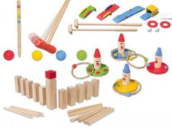 PLAYTIVE® Holz Spiele-Sortiment