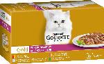 dm-drogerie markt GOURMET Nassfutter für Katzen, Gold Feine Komposition, Multipack 4x85g