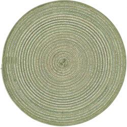 Platzest mit spiralförmigem Muster