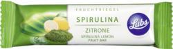 Fruchtriegel Spirulina Zitrone