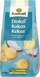 Dinkel-Kokos-Kekse