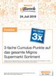 Migros Ostschweiz Migros-Mittwoch Aktion - bis 24.07.2019