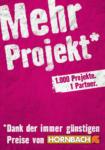 Hornbach Hornbach Projekt - Mehr Projekt - bis 17.08.2019