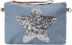 Codello Kosmetiktasche mit Stern aus Pailletten