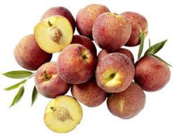 Spanien/Italien Pfirsiche Kennzeichnung siehe Etikett, jede 1-kg-Schale