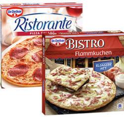 Dr. Oetker Pizza Ristorante, Piccola  oder Bistro Flammkuchen  gefroren, jede 320-g-Packung und weitere Sorten