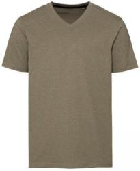 Herren-T-Shirt in modischer Melange-Optik