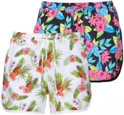 Damen-Shorts mit sommerlichem Muster