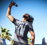 NKD Uncle Sam Herren-Fitness-T-Shirt aus reiner Baumwolle