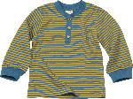 dm-drogerie markt ALANA Kinder-Pullover, Gr. 98, in Bio-Baumwolle, blau, gelb