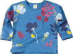 ALANA Kinder-Sweatshirt, Gr. 98, in Bio-Baumwolle, blau