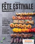 Migros Genève Envie de Fête Estivale - au 05.08.2019
