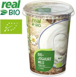 Bio-Joghurt Mild 3,8 % Fett, jeder 500-g-Becher