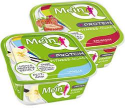 Mein Q Fitness-Quark Frucht + Protein, jeder 180-g-Becher