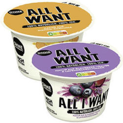 Danone All I Want High Protein versch. Sorten, jeder 145-g-Becher