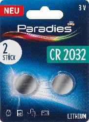 Paradies Knopfzelle CR 2032